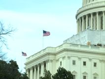 US Capitol Building, Washington DC. United States stock footage