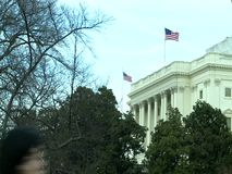 US Capitol Building, Washington DC. United States stock video footage