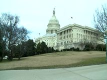 US Capitol Building, Washington DC. United States stock video