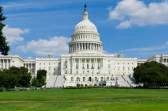 US Capitol building , Washington DC Royalty Free Stock Photos