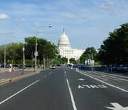 US Capitol building , Washington DC. View on US Capitol building in Washington DC USA Royalty Free Stock Photography