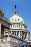 US Capitol closeup, Washington DC. Stock Image