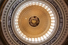 US Capitol Dome. Interior view of the US Capitol Dome Royalty Free Stock Image
