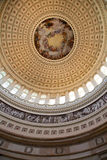 US Capitol Dome. Interior view of the US Capitol Dome Royalty Free Stock Images