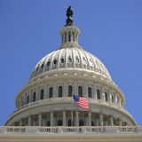 US Capitol Dome Stock Photography