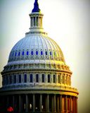 US Capitol dome. Abstract portrait of the US Capitol dome Royalty Free Stock Photo