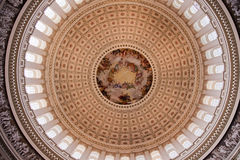 US Capitol Dome Apothesis Washington DC Stock Image