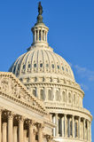 US Capitol dome detail, Washington DC Royalty Free Stock Photo