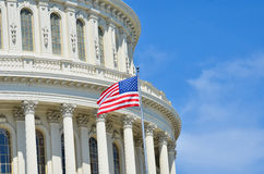 US Capitol dome detail, Washington DC Royalty Free Stock Photography