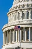 US Capitol dome detal Stock Photos
