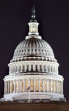 US Capitol Dome Night Washington DC. US Capitol Dome Close Up Congress House Washington DC Stock Photography