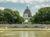 US Capitol Dome in Scaffolding Royalty Free Stock Photography