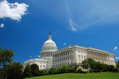 US Capitol In Washington DC Royalty Free Stock Photos