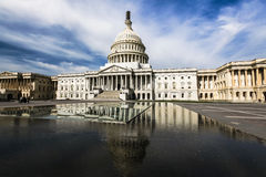 US Capitol Neoclassical Architecture Washington DC Stock Photo