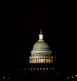 US Capitol at night Royalty Free Stock Photography