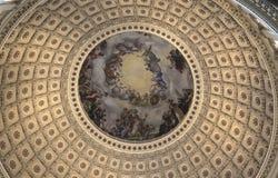 The US Capitol Rotunda Stock Photos