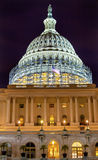US Capitol South Side Construction Night Stars Washington DC Stock Images