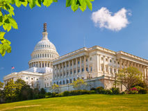 US Capitol at sunny day Stock Image