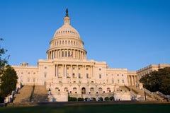 US Capitol at sunset. Washington DC Royalty Free Stock Photos