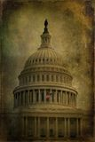 US Capitol Textured Royalty Free Stock Image