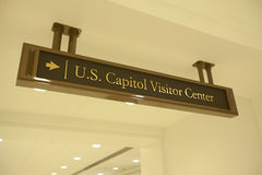 US Capitol Visitor Center Royalty Free Stock Photo