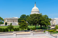 The US Capitol in Washington D.C. The United States Capitol in Washington D.C Stock Photos