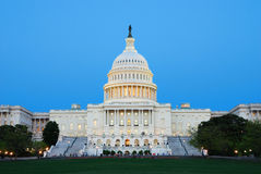 US capitol, Washington DC. Royalty Free Stock Image