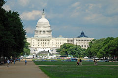 US Capitol in Washington DC Royalty Free Stock Photo