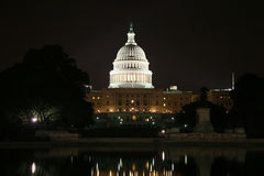 US Capitol in Washington DC Royalty Free Stock Photo