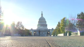 The US Capitol in Washington, DC stock video