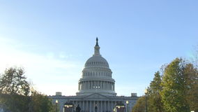The US Capitol in Washington, DC stock footage