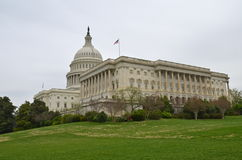 The US Capitol in Washington DC in the spring Stock Photography