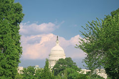 US Capitol in Washington DC, sunset Royalty Free Stock Photo