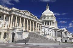 Us-Capitolbyggnad, Washington DC Arkivfoto