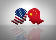 Free US China Conflict Royalty Free Stock Photography - 191068697