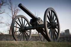 US Civil War cannon Stock Photo