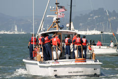 Us coast guard Royalty Free Stock Photography