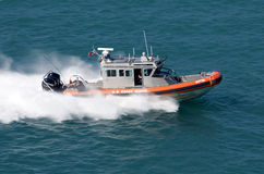 US Coast Guard. In action Stock Photos