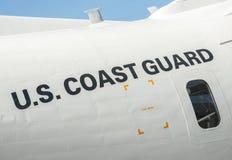 US Coast Guard aircraft Royalty Free Stock Photography