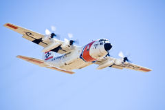 US Coast Guard C-130 Hercules Stock Photo