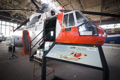 US Coast Guard Chopper Stock Images