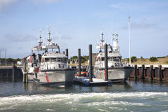 US Coast Guard Cutters Royalty Free Stock Images