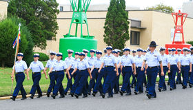 US Coast Guard Graduation Royalty Free Stock Image