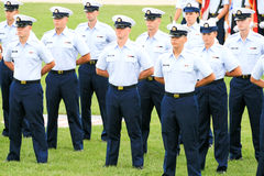 US Coast Guard Graduation Royalty Free Stock Photo