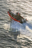US Coast Guard motorboat Royalty Free Stock Photography