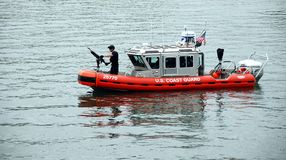 US Coast Guard Patrol Royalty Free Stock Photography