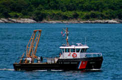 US Coast Guard patrol boat Royalty Free Stock Photos