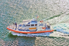 US Coast Guard Port of Los Angeles Royalty Free Stock Images