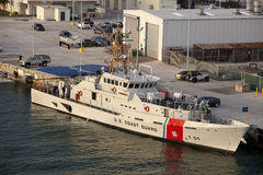 US Coast Guard Sentinel (Fast Response) class Cut Royalty Free Stock Images
