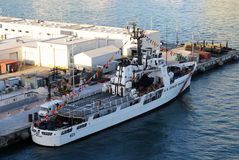 US Coast Guard ship Royalty Free Stock Photography